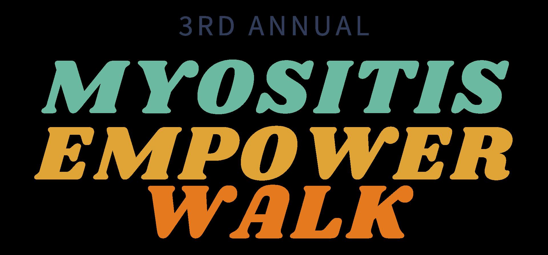 3rd Annual Myositis Empower Walk