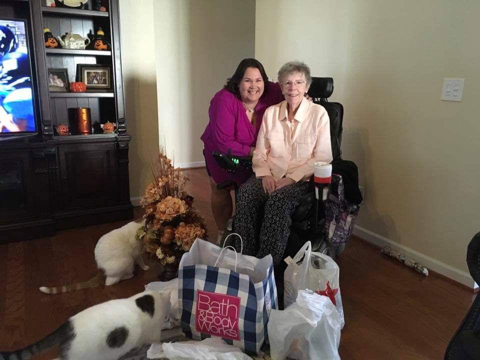 Stella Clapp with daughter Jennifer Shubert